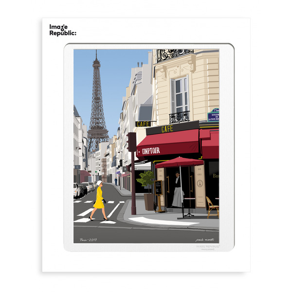 Image Republic Paris 50cm x 76cm(IN STORE OR IN STORE PICK UP ONLY)