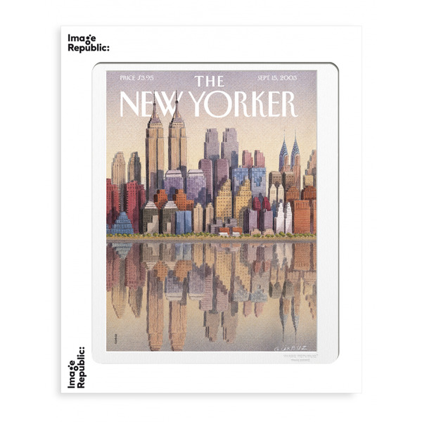 Image Republic Twin Towers 40cm x 50cm(IN STORE OR IN STORE PICK UP ONLY)