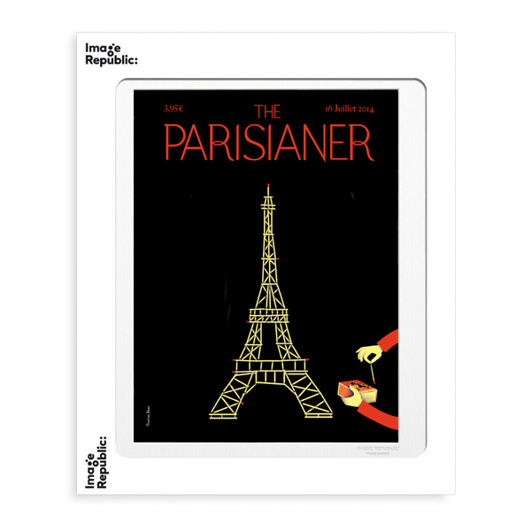 Image Republic Baas- No.23 Parisianer 40cm x 50cm(IN STORE OR IN STORE PICK UP ONLY)